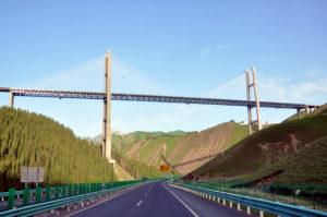 我们公司修建的桥梁