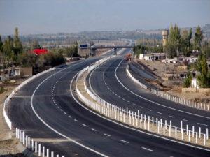 我们公司修建的高速公路